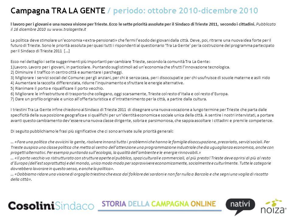 l lavoro per i giovani e una nuova visione per Trieste.