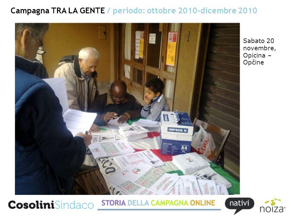 Campagna COSOLINI TRA LA GENTE / periodo: gennaio 2011-13 maggio 2011 Il Piccolo, 22 gennaio 2011
