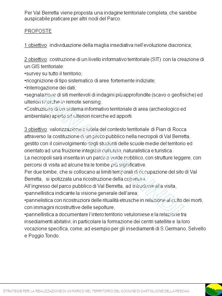 STRATEGIE PER LA REALIZZAZIONE DI UN PARCO NEL TERRITORIO DEL COMUNE DI CASTIGLIONE DELLA PESCAIA Figura 70 Veduta dellarea del padule, nello sfondo la Casa Rossa Figura 69 Cartello indicante i lavori di sistemazione dell area della villa delle Paduline Figura 67 e 68 Carta territorio comunale di Castiglione della Pescaia e particolare dellarea del nodo Casa Rossa /Paduline (Ortofotocarta IGM scala 1:10.000) NEL NODO: Museo Multimediale Casa Rossa Ximenes; percorsi nel padule della Diaccia Botrona; percorso informativo su pannelli: storia della bonifica della pianura maremmana; Villa imperiale: con la ricostruzione di una parte della struttura architettonica; percorso informativo su pannelli: villa imperiale ed abitato romano; AL NODO AFFERISCONO I PERCORSI:.