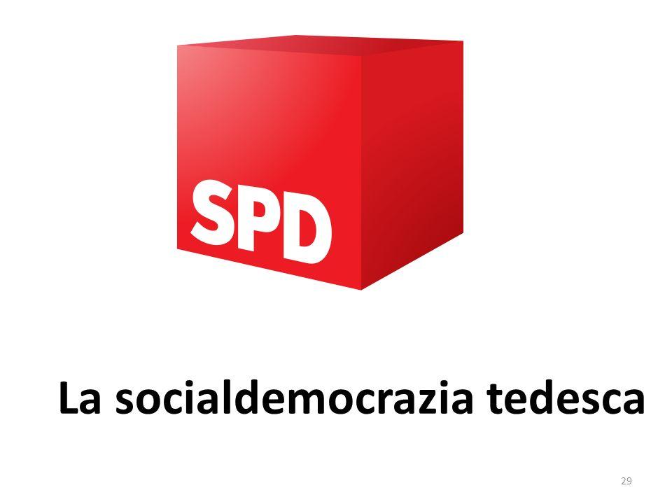 29 La socialdemocrazia tedesca