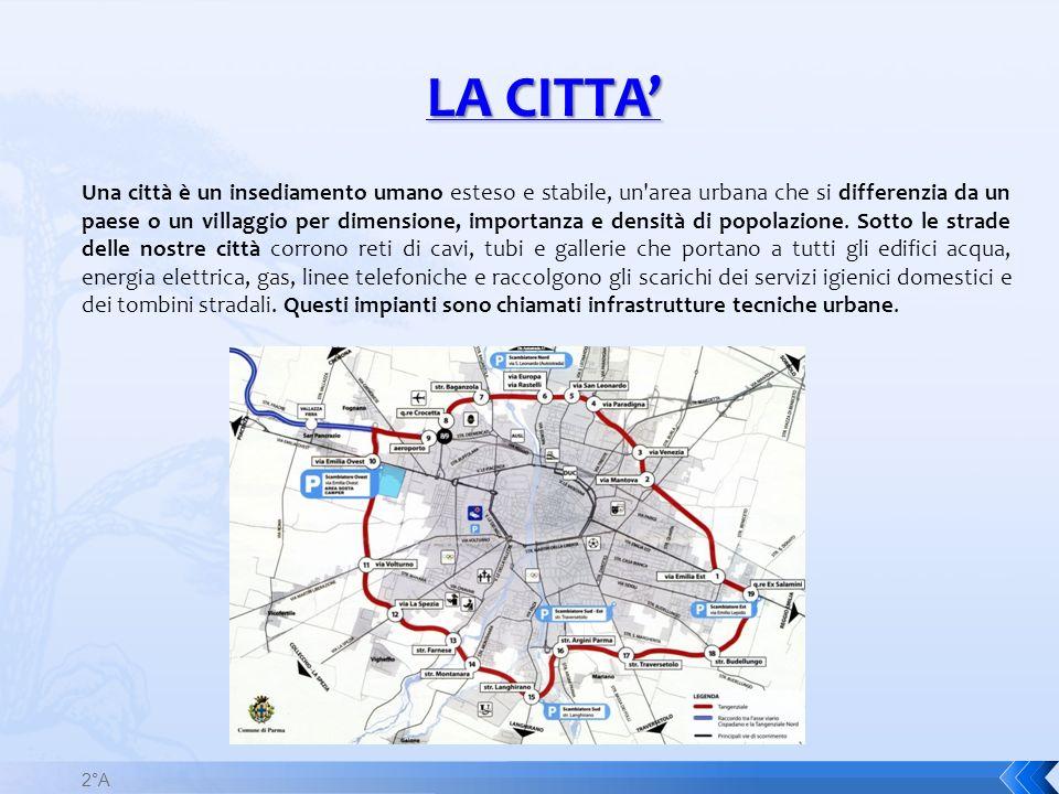 Una città è un insediamento umano esteso e stabile, un'area urbana che si differenzia da un paese o un villaggio per dimensione, importanza e densità