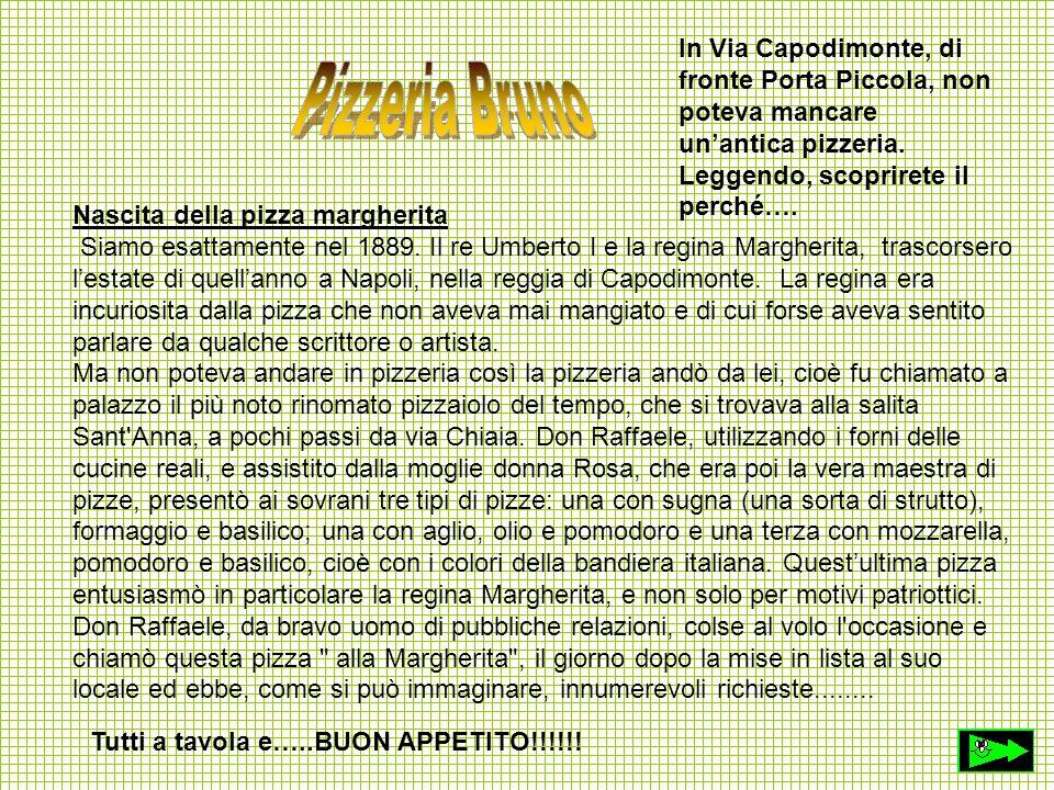 Nascita della pizza margherita Siamo esattamente nel 1889. Il re Umberto I e la regina Margherita, trascorsero lestate di quellanno a Napoli, nella re