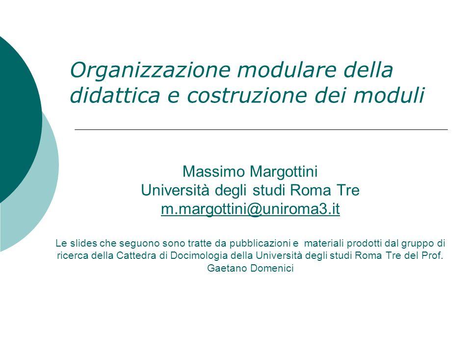 Massimo Margottini Università degli studi Roma Tre m.margottini@uniroma3.it Le slides che seguono sono tratte da pubblicazioni e materiali prodotti da