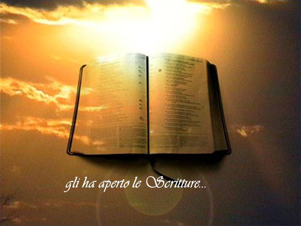 Lo Spirito del Signore posandosi sul fondatore in preghiera, mani e piedi legati gli ha aperto le Scritture…