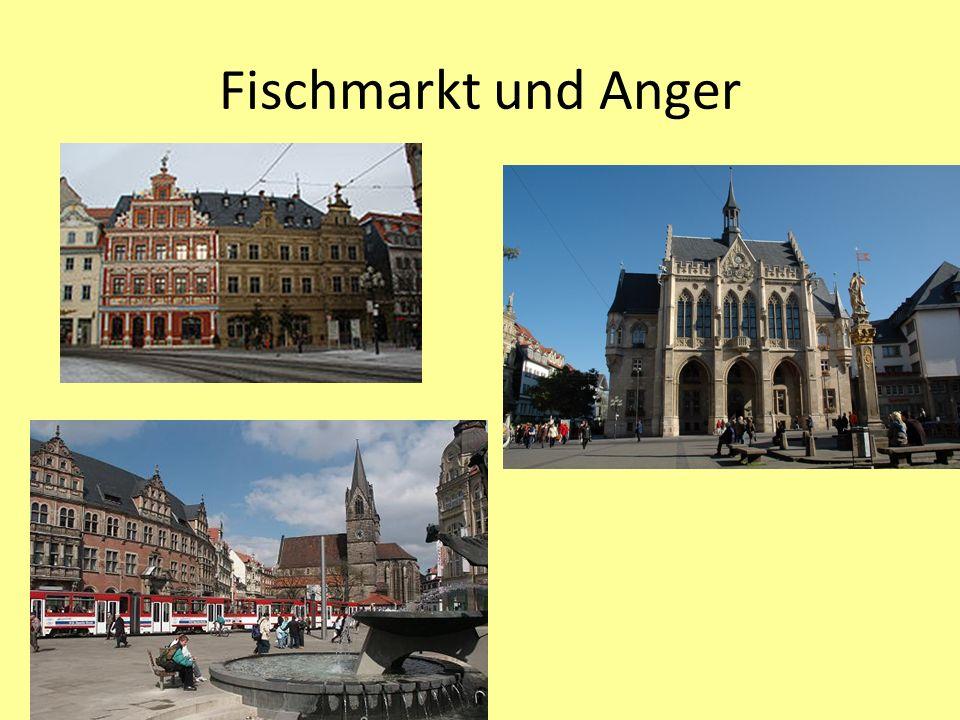 Fischmarkt und Anger