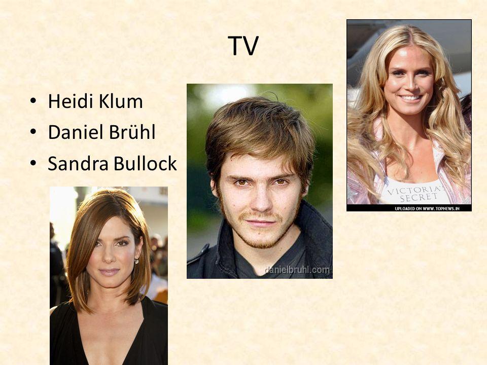 TV Heidi Klum Daniel Brühl Sandra Bullock