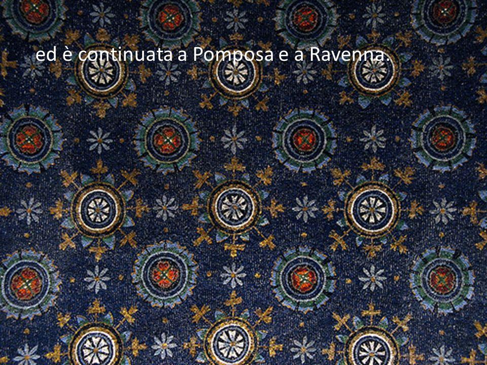 ed è continuata a Pomposa e a Ravenna.