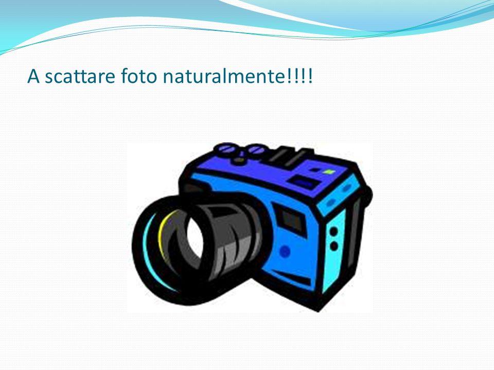 A scattare foto naturalmente!!!!