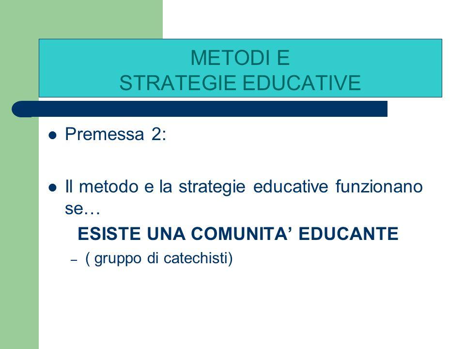 1 PROGETTO EDUCATIVO 1 PROGETTO EDUCATIVO 2 COMUNITA EDUCANTE 2 COMUNITA EDUCANTE