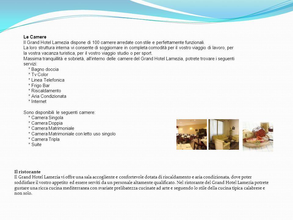 Il ristorante Il Grand Hotel Lamezia vi offre una sala accogliente e confortevole dotata di riscaldamento e aria condizionata, dove poter soddisfare i