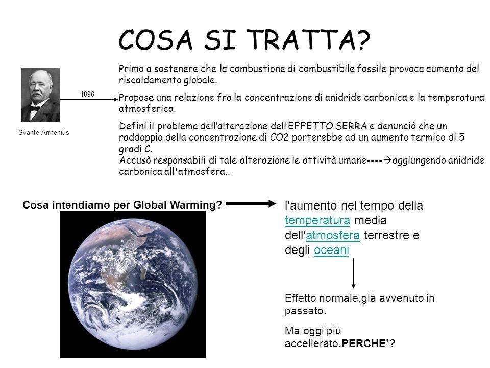 Scenari regionali ITALIA: dovrebbe trovarsi divisa in due fasce.