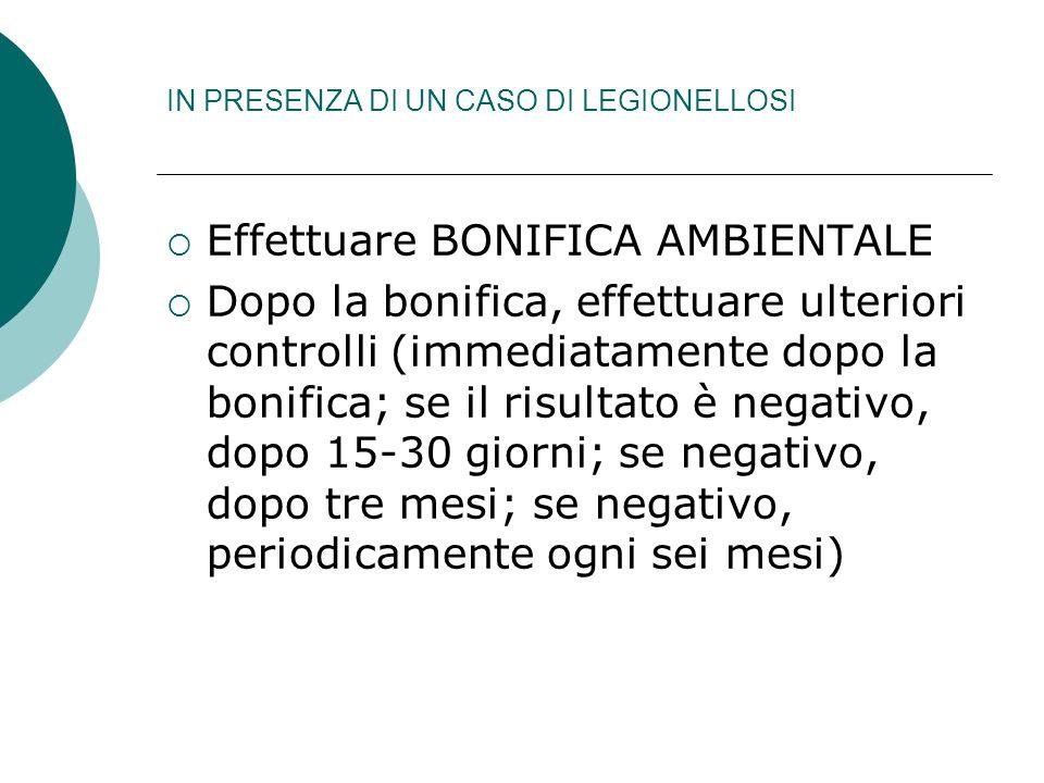 SISTEMA DI NOTIFICA (D.M. 15/12/90)