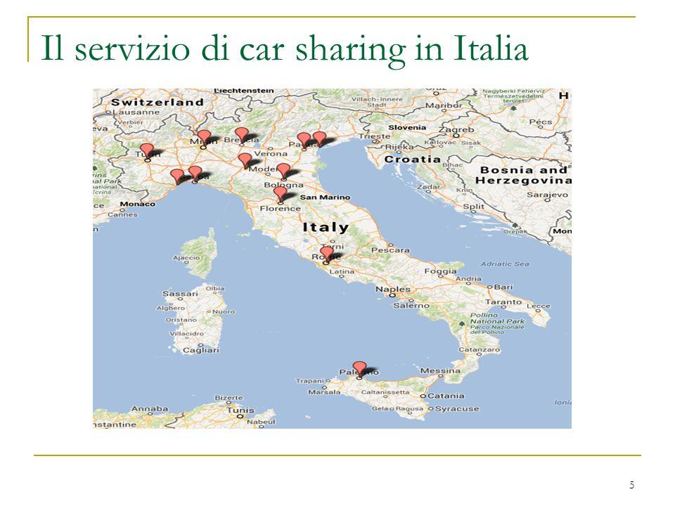 6 Car sharing – le anomalie tariffarie Pur condividendo la stessa struttura tariffaria, il car sharing pubblico ingloba, per lutente gli oneri relativi a: accesso nella zona a traffico limitato (se prevista); sosta del veicolo (se prevista); tassa di possesso; assicurazione Responsabilità Civile; assicurazione Kasko, Incendio/Furto del veicolo (con franchigia); carburante utilizzato; ammortamento del veicolo; manutenzioni e riparazioni.