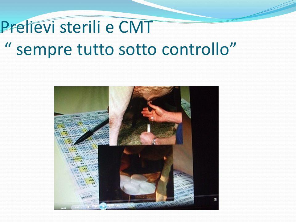 Prelievi sterili e CMT sempre tutto sotto controllo