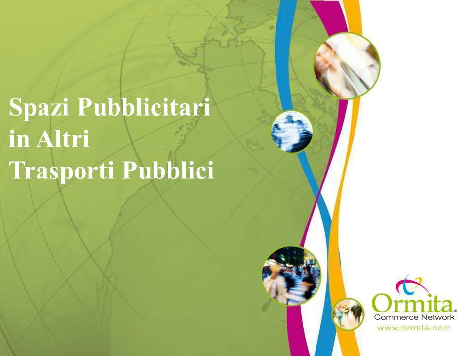 Spazi Pubblicitari in Altri Trasporti Pubblici
