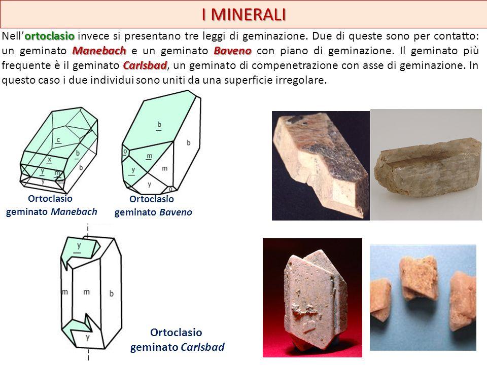 I MINERALI Sistema ortorombico aragonite a stellacerussitecroce grecacroce di S.