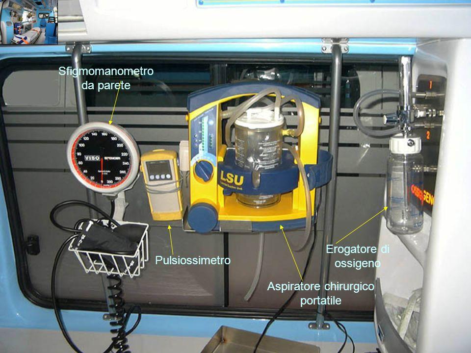 Sfigmomanometro da parete Pulsiossimetro Aspiratore chirurgico portatile Erogatore di ossigeno