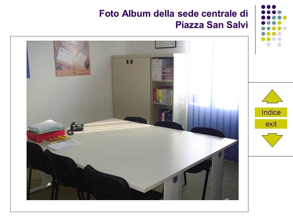 Indice exit Foto Album della sede centrale di Piazza San Salvi