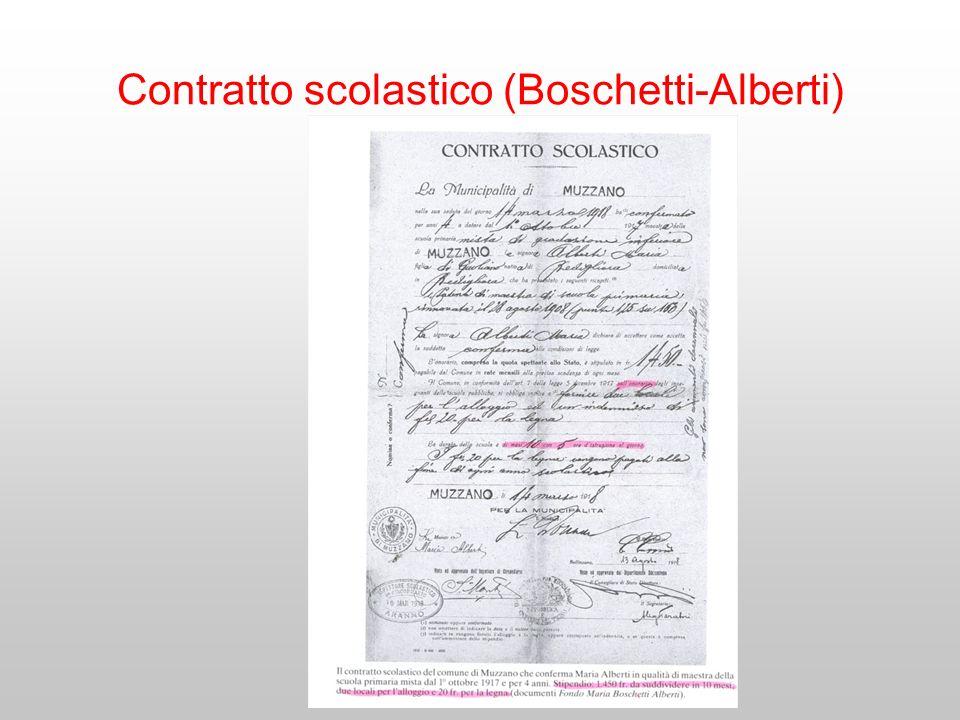 Contratto scolastico (Boschetti-Alberti)