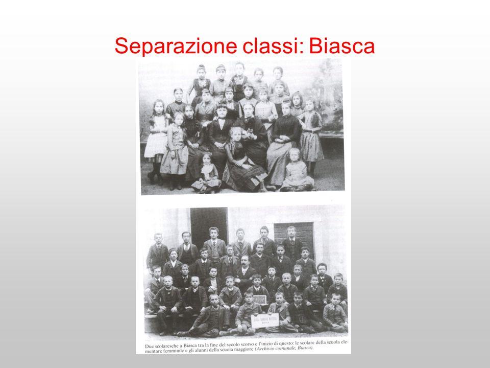 Separazione classi: Biasca