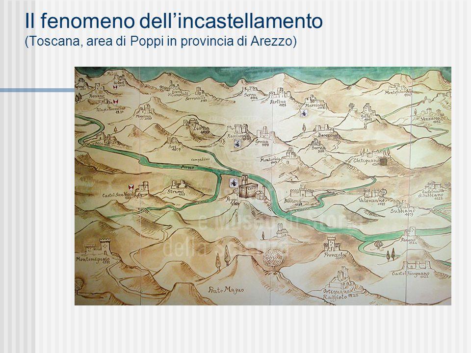Il fenomeno dellincastellamento (Toscana, area di Poppi in provincia di Arezzo)