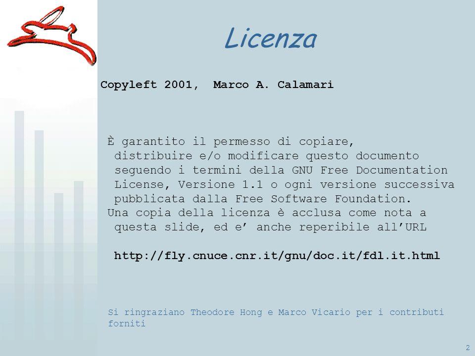 2 Licenza Copyleft 2001, Marco A.