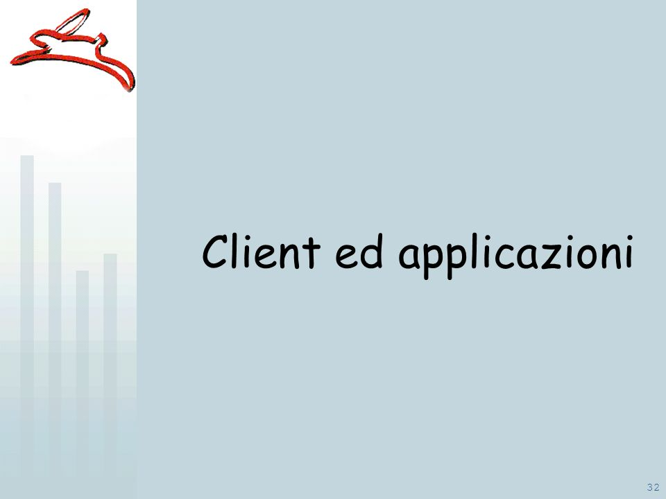 32 Client ed applicazioni