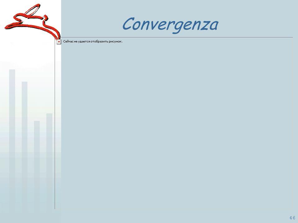 46 Convergenza