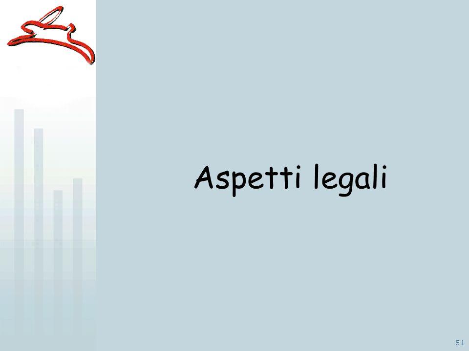 51 Aspetti legali