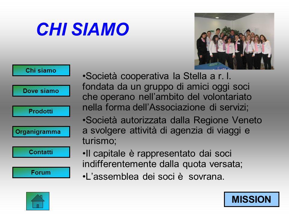 CHI SIAMO Società cooperativa la Stella a r. l.