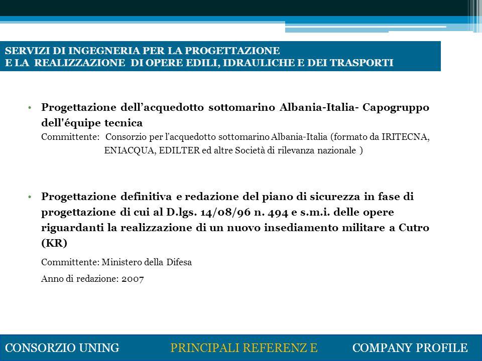 Aeroporto Civile di Taranto – Grottaglie: potenziamento land-side ed air- side per la realizzazione di una piattaforma logistica aeronautica Committente: SEAP S.p.a.