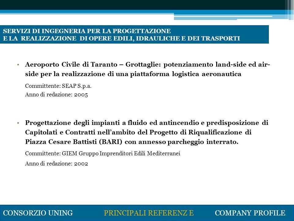 Progetto preliminare dellImpianto di potabilizzazione del Pertusillo Committente:Acquedotto Pugliese Progettazione S.r.l.