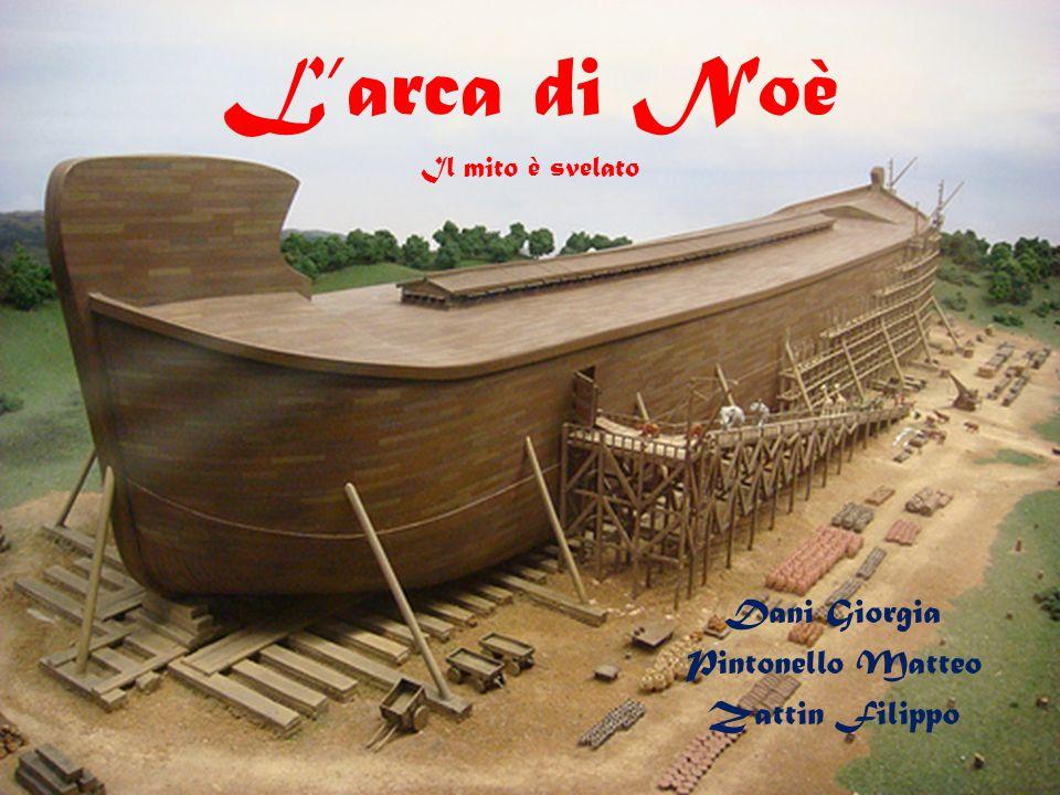 […]Ecco come devi farla: l arca avrà 300 cubiti di lunghezza, 50 di larghezza e 30 di altezza.