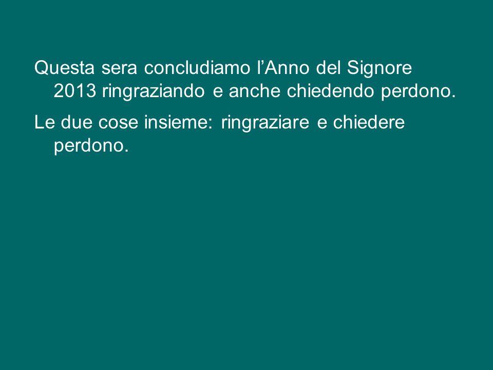 In questa prospettiva, la Chiesa di Roma si sente impegnata a dare il proprio contributo alla vita e al futuro della Città - è il suo dovere! -, si se