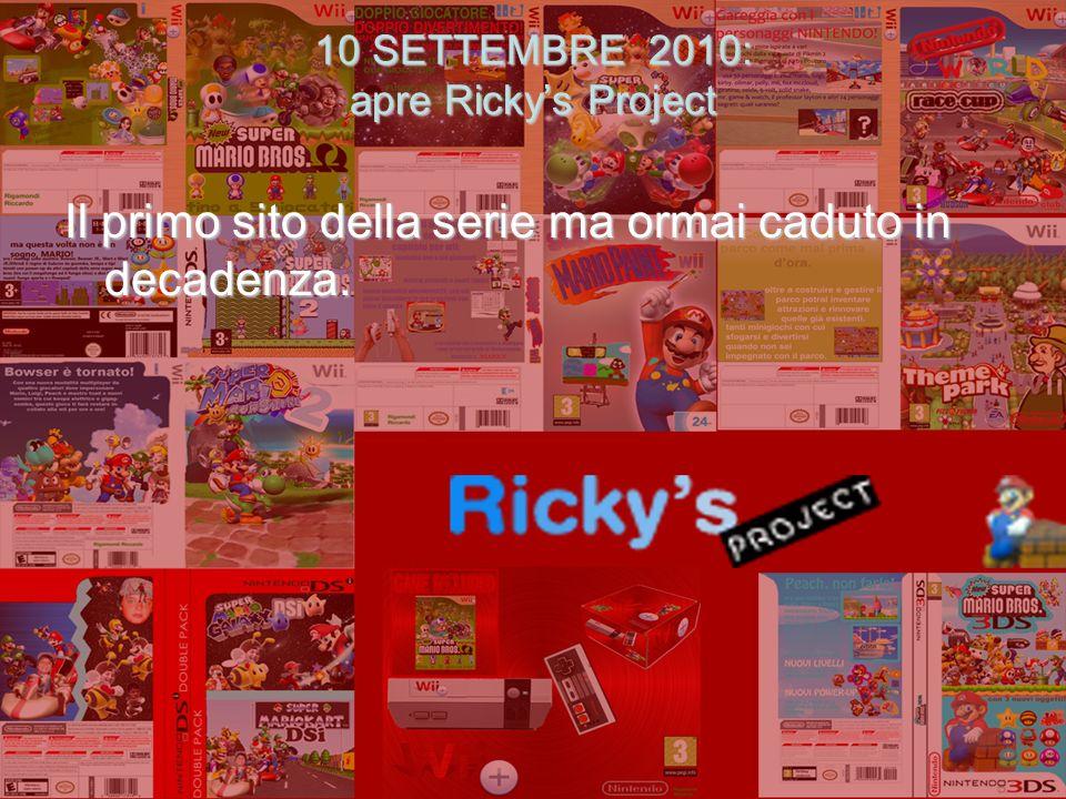1 anno con Rickys Project Prodotto da Riccardo Rigamondi