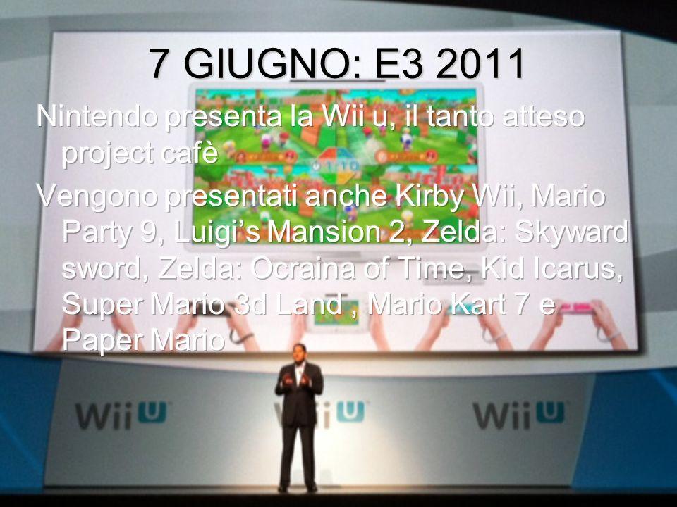 28 maggio 2011:I primi rumors sul project cafè, ovvero il Wii u Fornite immagini, purtroppo false, su project cafè, presentato poi allE3