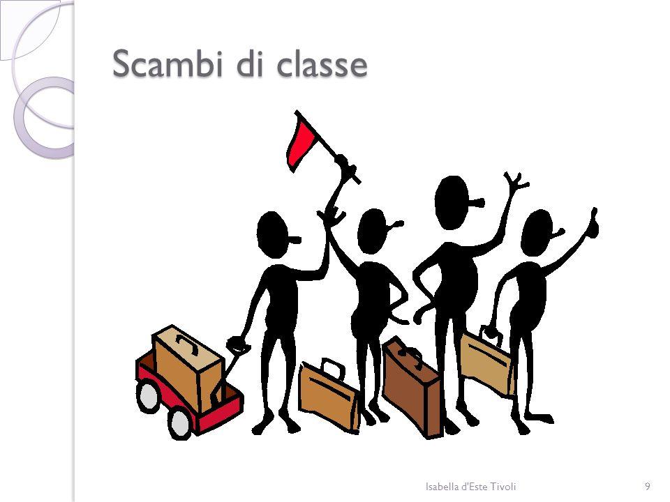 Scambi di classe Isabella d'Este Tivoli9