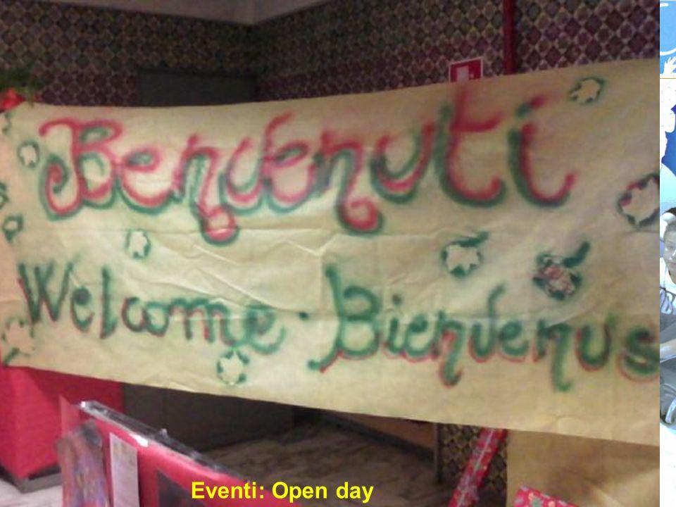 Eventi: Open day