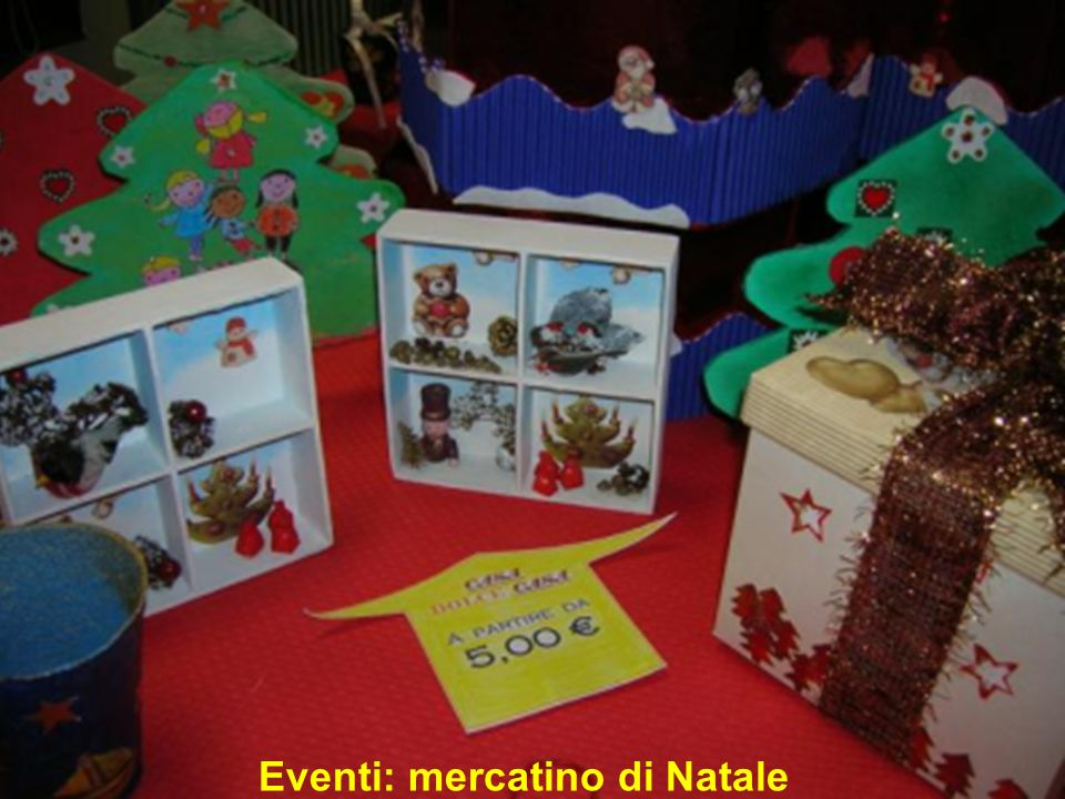 Eventi: mercatino di Natale