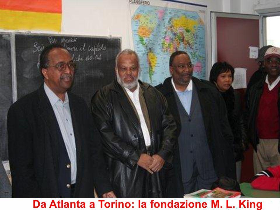 Da Atlanta a Torino: la fondazione M. L. King