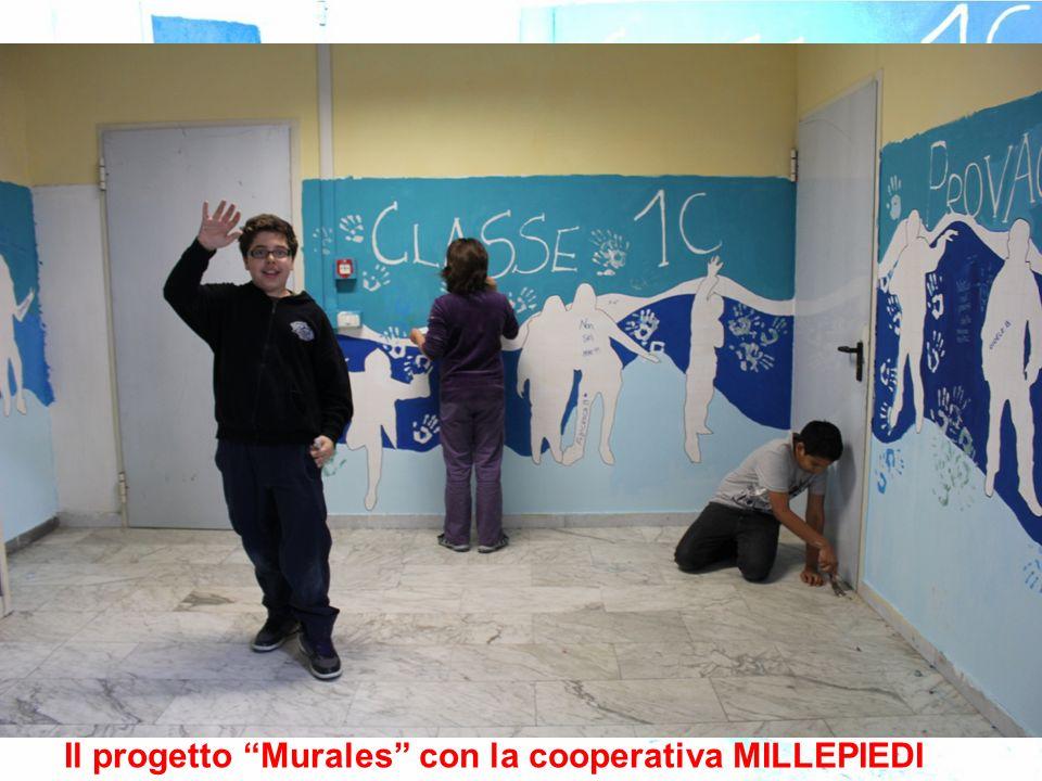 Il progetto Murales con la cooperativa MILLEPIEDI