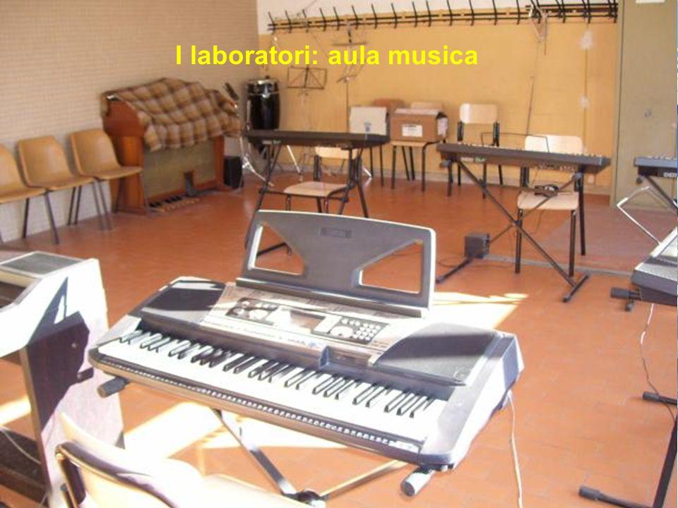 I laboratori: aula musica