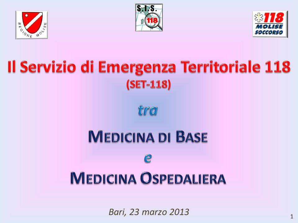 1 Bari, 23 marzo 2013
