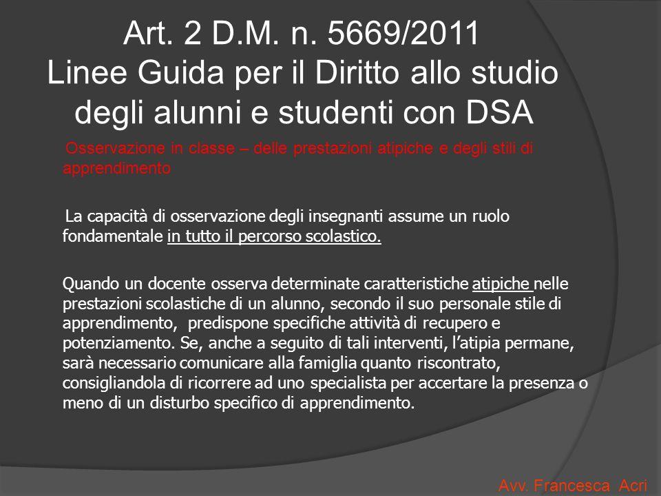 Art.2 D.M. n.