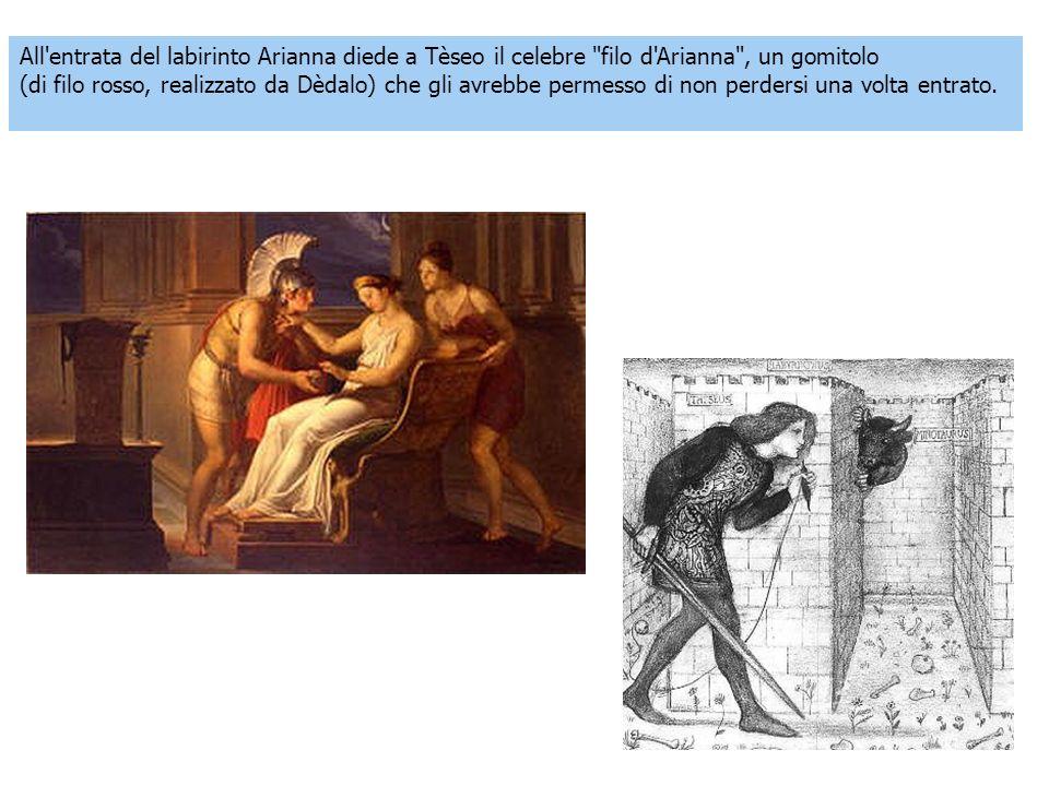 All'entrata del labirinto Arianna diede a Tèseo il celebre