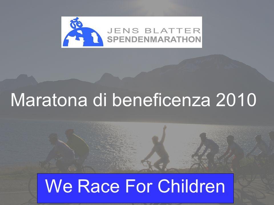 We Race For Children Dati personali CognomeBlatter NomeJens IndirizzoOberstalden CAP 3932 LuogoVisperterminen Data di nascita18.