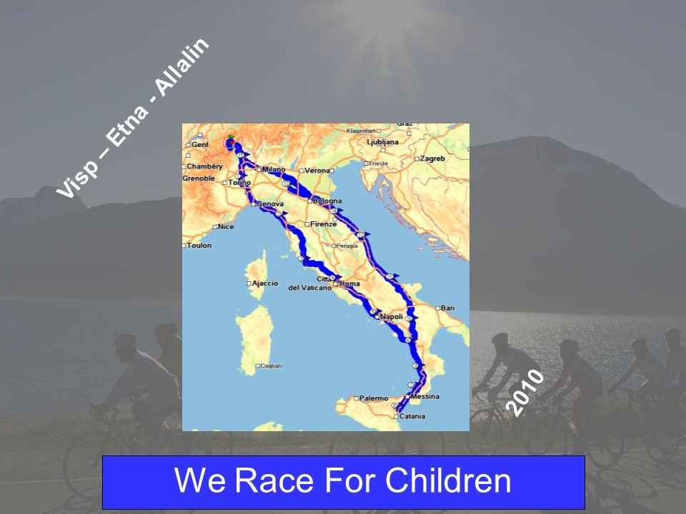 We Race For Children Progetto 2004 - Swaziland