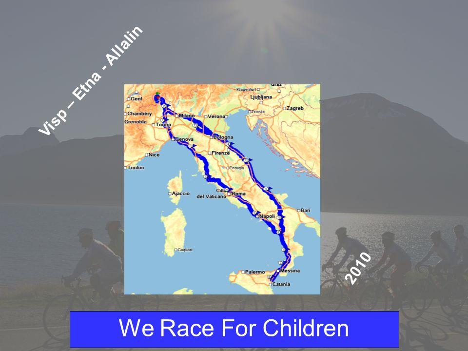 We Race For Children Possibilità di Sponsoring Gli indumenti sponsorizzati non sono validi solo per un unico anno ma i vestiti verranno utilizzati dai partecipanti per molto tempo.