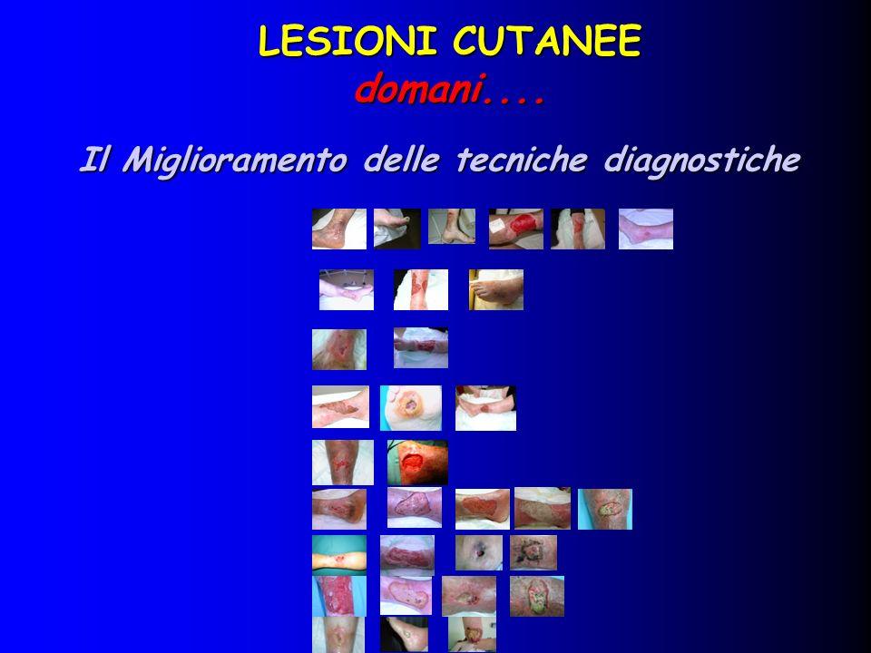 sistemi utilizzati per la valutazione morfologica sistemi utilizzati per la valutazione morfologica Sistema Stereofotografico digitale Possibilità di valutare lunghezza, larghezza, profondità, volume.