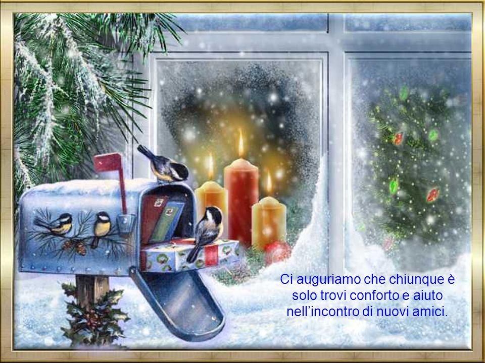 Carissimi Amici, allinizio di questo nuovo anno ci auguriamo anzitutto vicendevolmente buona salute e che chiunque vive una condizione di sofferenza p